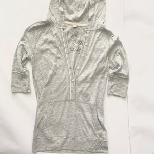 Abercrombie & Fitch Hooded Pullover Top